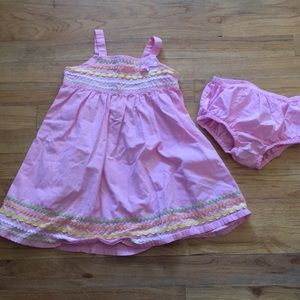 🔴5/$15🔴Gymboree pink 2-piece sundress